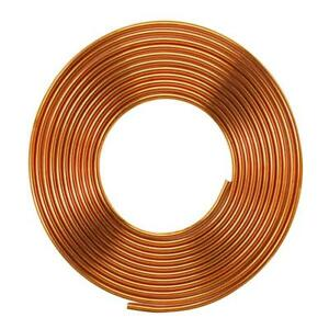 Everbilt 1 2 In O d X 50 Ft Copper Refrigeration Tubing