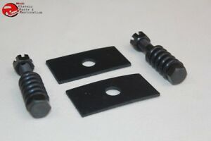 28 48 Ford Car Truck Radiator Mounting Kit Bolts Springs Rubber Pads Castle Nuts