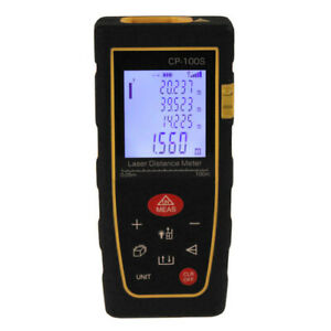 100m 328ft Digital Lcd Laser Distance Finder Measure Meter Range Diastimeter