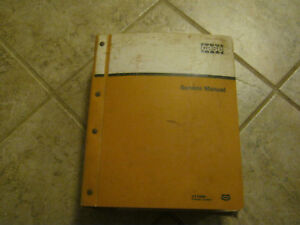 Case 9 70011 Tractor Backhoe Forklift Dozer Bulldozer Service Manual 310 430 530