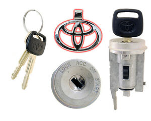 Toyota Rav4 2001 2003 Ignition Lock Cylinder W 2 New Keys Dealer Brand New