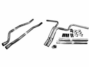 Exhaust System For 1975 1980 1982 1986 Chevy K10 1984 1985 1976 1977 N695bk