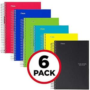 Spiral Notebooks 1 Subject College Ruled Paper 100 Sheets 11 X 8 1 2 6