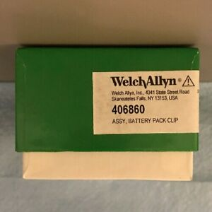 Welch Allyn 406860 Battery Pack Clip Assembly Box Of 2