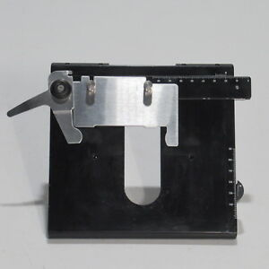 Leica Right Handed Mechanical Stage W Slide Holder For Dmls Microscope