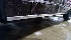 80 89 Lincoln Town Car Left Driver Chrome Rocker Molding Side Skirt
