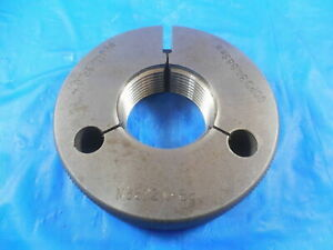 M36 X 2 0 6g Metric Thread Ring Gage 36 0 Go Only P d 34 663 Mm Inspection