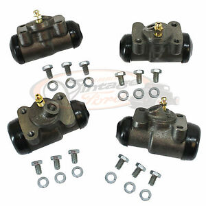 1939 1940 1941 Ford Wheel Cylinders Front Rear With Hardware Drum Brake