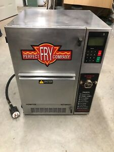 Perfect Fry Pcf 5700 Commercial 240v 1ph Ventless Fryer Countertop Hoodless