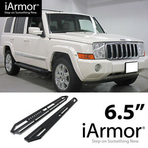 Ams Jeep Off Road Side Steps Armor For 05 10 Jeep Grand Cherokee Running Borads