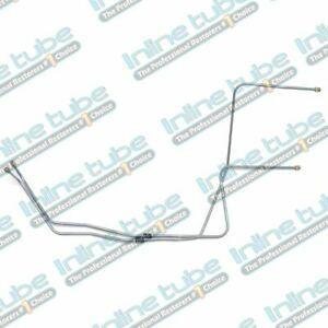 1964 66 Pontiac Gto Automatic Transmission Cooler Trans Lines Kit Tubes Oe Steel