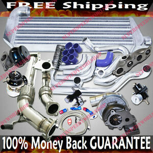 Turbo Kits T3 t4 Turbo For 02 06 Acura Rsx Type s Coupe 2d Dohc 2 0 Only For Dc5