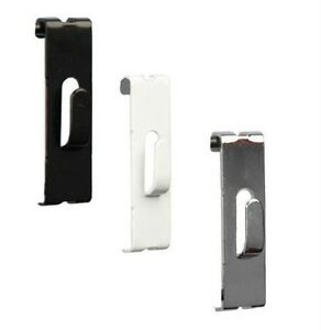 Grid Grdiwall Picture Notch Hooks Black white Or Chrome Case Of 50 Or 100