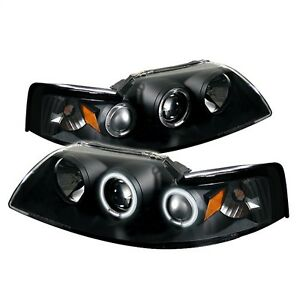 Spyder Auto 5010476 Ccfl Halo Projector Headlights Fits 99 04 Mustang