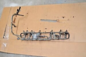 79 80 81 82 83 Datsun 280zx Fuel Rail With Injectors