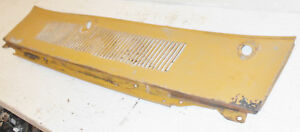 1969 1970 Mustang Mach1 Boss Shelby Cougar Xr7 Eliminator Orig Cowl Grille Panel