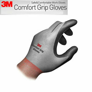 3m Comfort Grip Work Gloves Safety Gardening Mechanic Construction Work Gloves