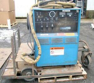 Miller Ac dc Cc Tig Welder 1ph 200 230 460v Syncrowave 300 Water Cooled Torch