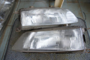Jdm Honda Civic Crx Ef Ef8 Ef9 Kouki Headlights 90 91 Hatchback Sir Headlamp