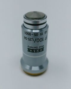Zeiss Microscope Objective F 100x 1 25 Oil