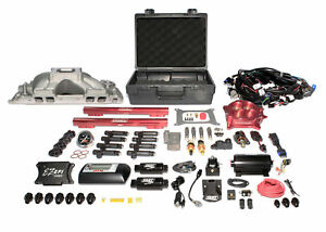 Ez Efi Bbc Multiport System W Intake Fuel System And Red Throttle Body