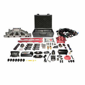 Ez Efi Windsor Multiport System W Intake Fuel System And Red Throttle Body