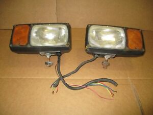Meyer Snow Plow Lights Pair Right And Left Used