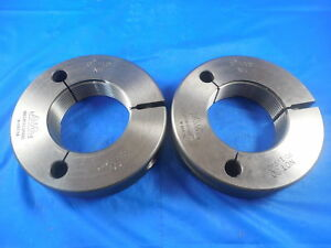2 12 Ns Thread Ring Gages 2 0 Go No Go P d s 1 9444 1 9404 Tools
