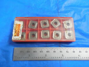 10pcs New Sandvik R245 12 T3 E pl 530 245 Insert 10937010 Machine Shop Tooling