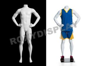 Headless Child Boy Sport Mannequin Standing Pose Display Dress Form mz hef25