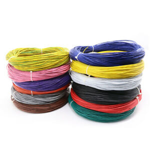 Rohs Ul Ul1007 22awg Pvc Electrical Cable Stranded Hook up Wire Tinned Copper
