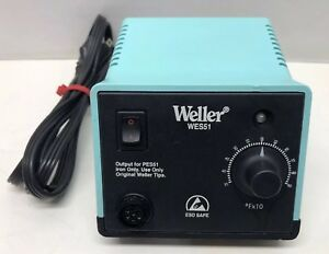 Weller Wes51 Analog Soldering Station Station Only free Shipping