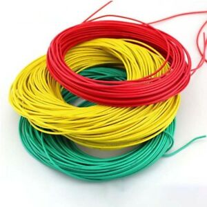 Ul1007 16awg Pvc Electrical Stranded Cable Wire Awm Copper Tinned Hook up 300v