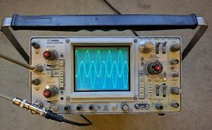 Tektronix 465 100mhz Oscilloscope Calibrated Sn B290929 With 2 Probes