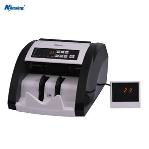 Nanxing Money Counter Automatic Cash Currency Counting Machine W9d4