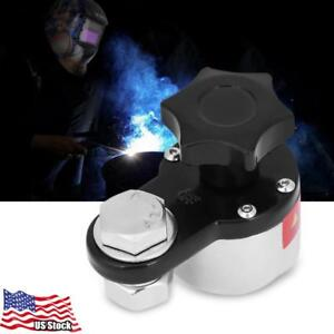 300a Magnetic Welding Ground Clamp Grounding Magnet Connector Welding Machine Us