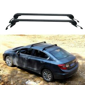 For Hyundai Santa Fe Sport 2013 18 Luggage Top Roof Rack Rail Cross Bar Aluminum