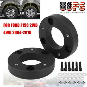 2 Inch Front Leveling Lift Kit Steel Spacers For 2004 2018 Ford F 150 2wd 4wd