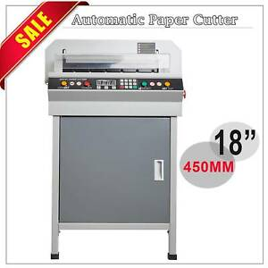 460 Electric Creaser Scorer Perforator 18 Paper Cutter Punch Guillotine