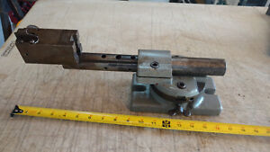 Vintage Geometric Style e Thread Chaser Grinding Fixture Tool Stand