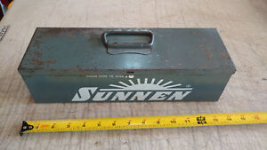 Vintage Metal Carrying Case only Box For Sunnen Jn 95 Junior Portable Hone