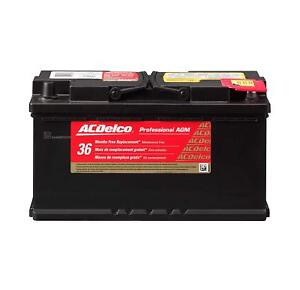 Acdelco 49agm Professional Agm Automotive Bci Group 49 Battery Ac Delco