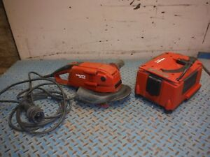 Hilti Dg150 6 Diamond Concrete Grinder W Dpc20 Power Conditioner Supply