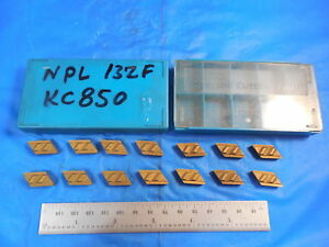 14pcs New Kennametal Npl 132f Carbide Inserts Cutting Tools Machine Shop