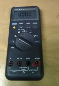 Fluke 87 Digital Multimeter No Leads