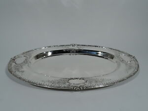Redlich Tray 4961 Antique Edwardian Serving American Sterling Silver
