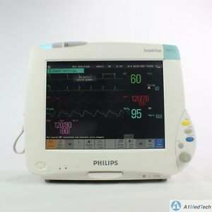 Philips Intellivue Mp50 Multiparameter Monitor With M3001a Multiparameter Module