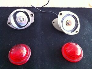 1967 Shelby Gt 500 Gt 350 Nos Mint Running Lamp Assy Pair Very Rare