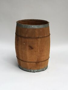 Rustic Nail Keg For Farm Kitchen Outdoor And Patio Decor