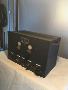 The Clough bringle Co Signal Generator Vintage Electronic Testing Equipment